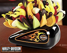 Harley Davidson Fruit Arrangements